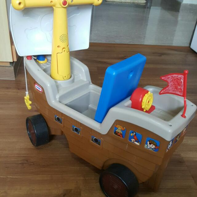 Little Tikes Pirate Play And Scoot Pirate Ship