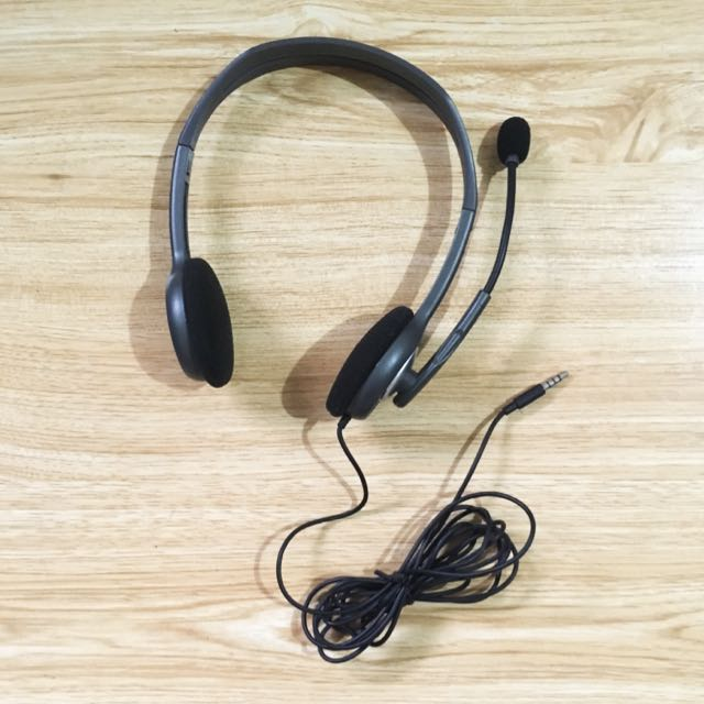 Logitech Noise-cancelling Microphone Stereo Headset