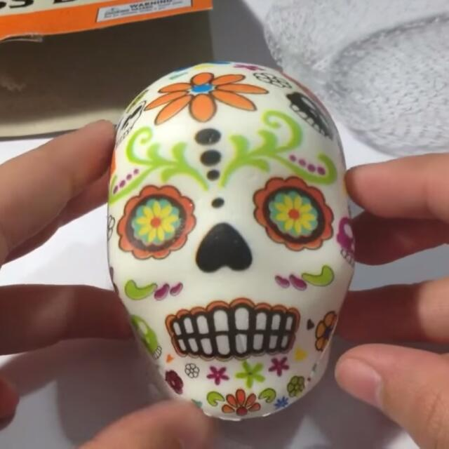 LOOKING FOR SUGAR SKULL SQUISHY/STRESS BALL ??, Looking For on Carousell
