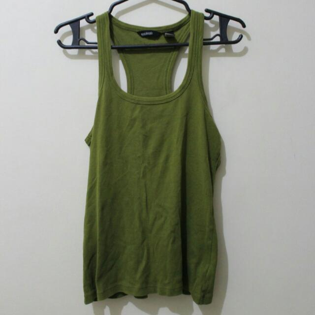 Mango Basics Olive Green Small