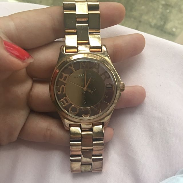 MARC JACOBS watch In Rose Gold (real)