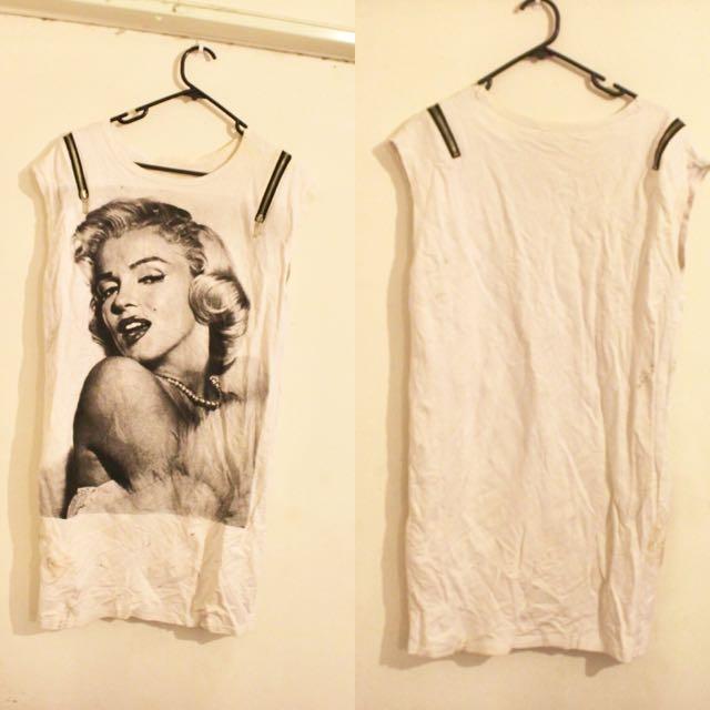 Marilyn Monroe Over Sized Tee