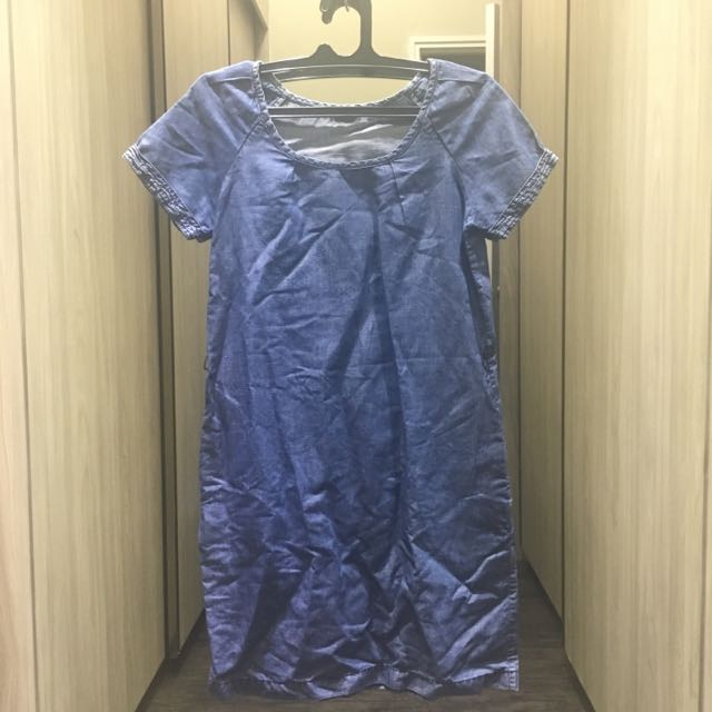 MASSIMO DUTTI Denim Dress