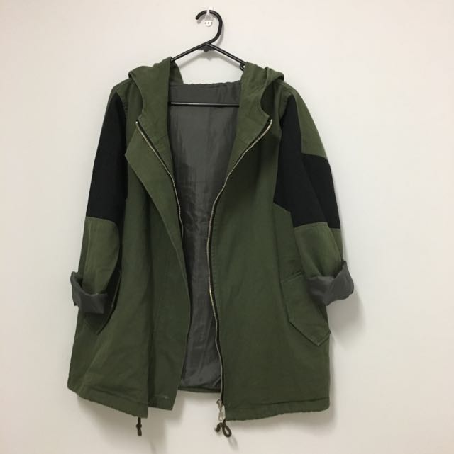 Military Jacket (with Hood)