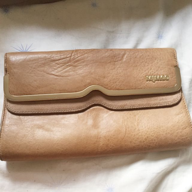 Mimco Leather Clutch