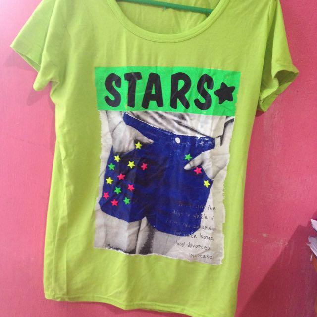 MM Light Green Stars