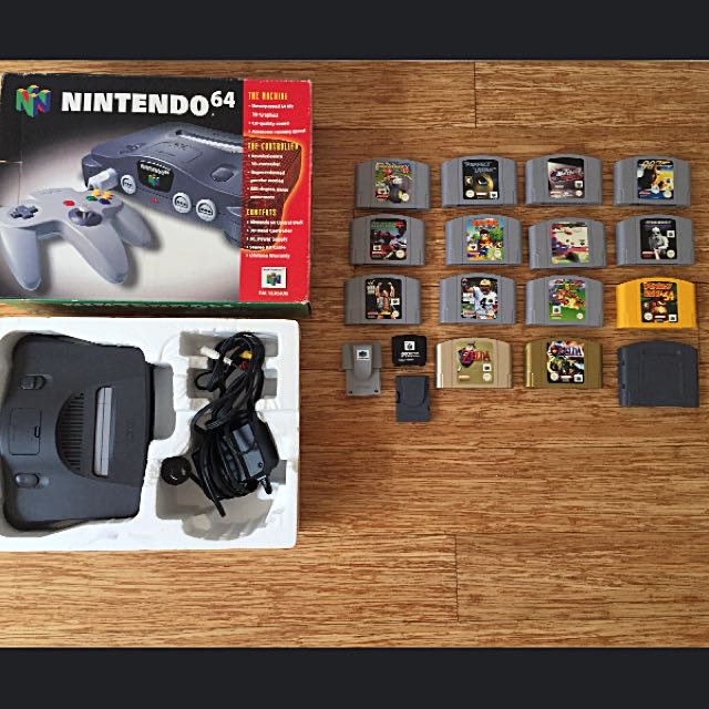 Nintendo 64, Game Cartridges & Accessories