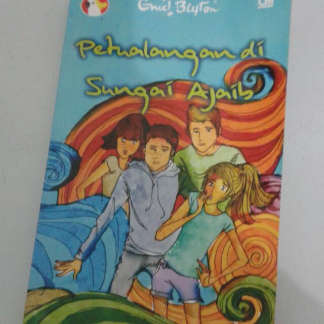Novel Enid Blyton Petualangan Di Sungai Ajaib