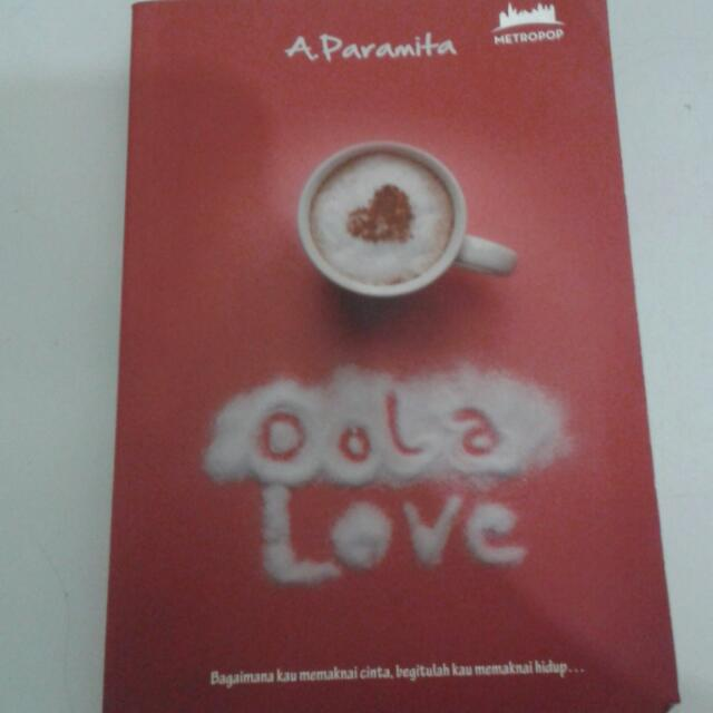 NOVEL METROPOP OOLA LOVE