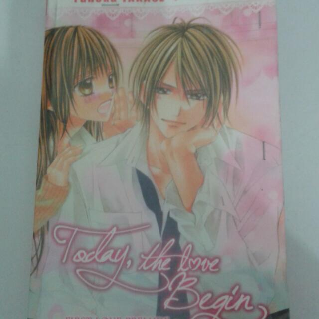 Novel TODAY THE LOVE BEGIN