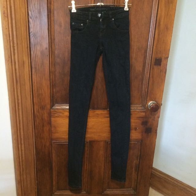 One Teaspoon Black Skinny Jeans