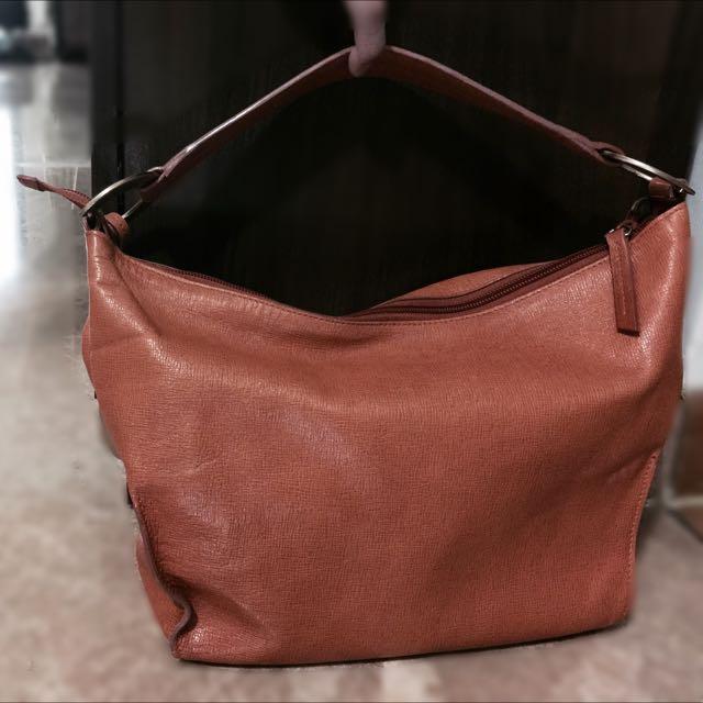 Orange Furla Handbag