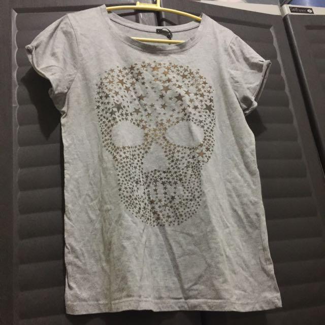 💝 Oxygen skull shirt