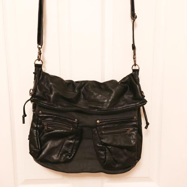 Pleather Cross body Bag