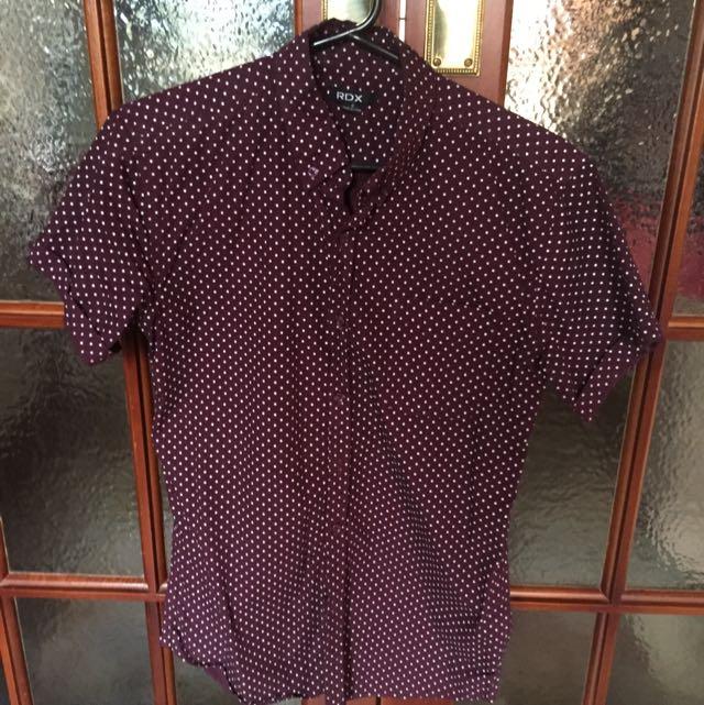 RDX Polka Dot Shirt - Small