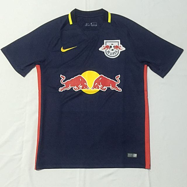 c57197d46 Red Bull Leipzig 2016/17 Away Replica Jersey, Sports, Sports Apparel on  Carousell