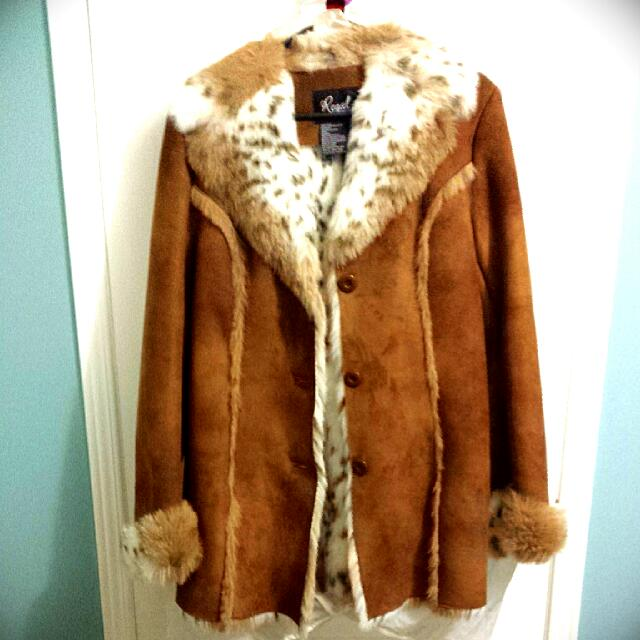 Regal Faux Fur Coat