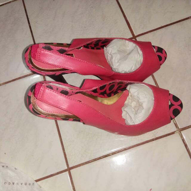 Sepatu Pesta, High Heels, Sepatu PINK