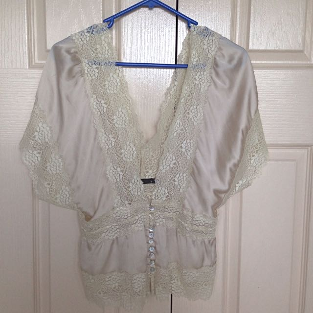 Silk Blouse Size 12