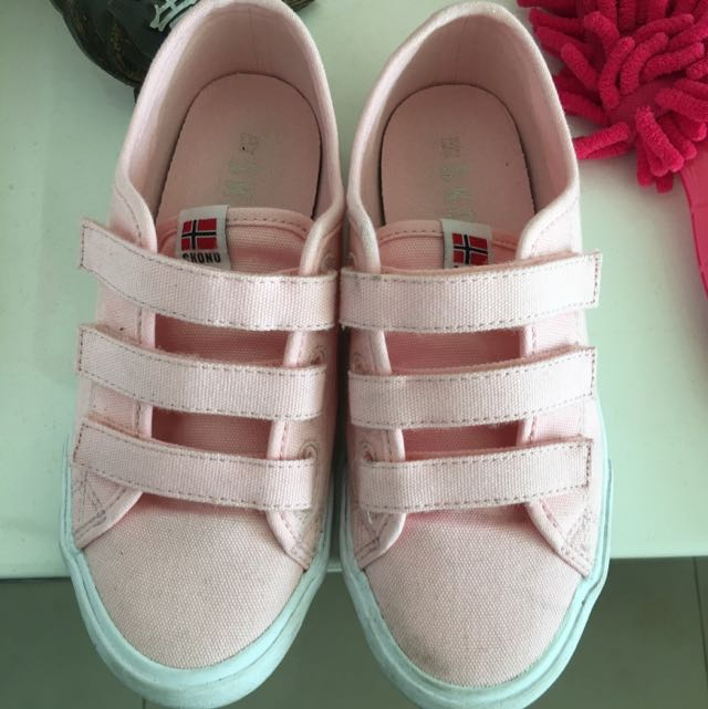 韓國購SKONO粉紅色便鞋33.5號