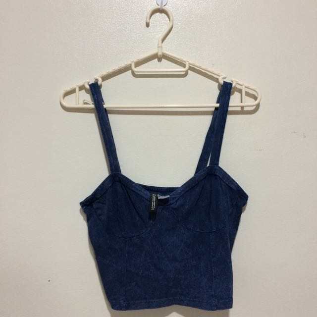 Sleveless Crop Top