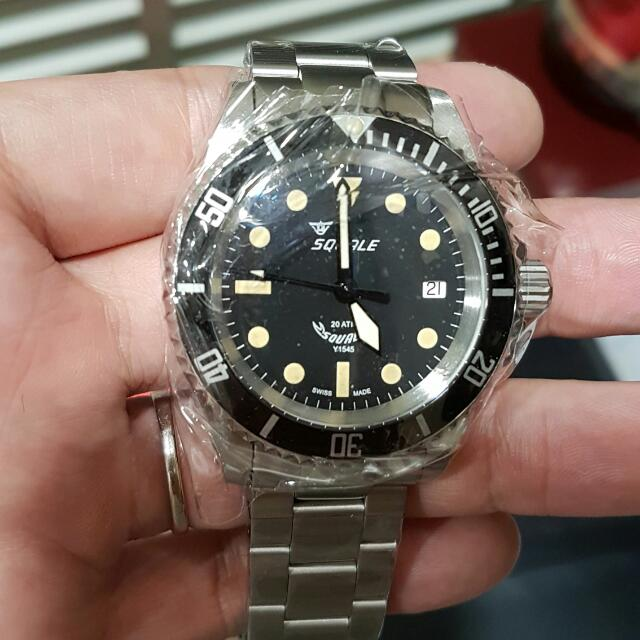 squale 20 atmos militaire 40mm everything else on carousell