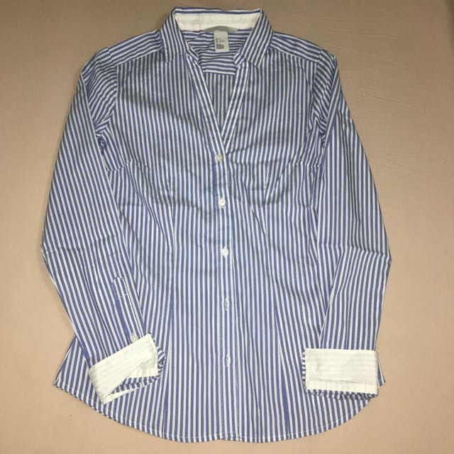 Stripe button up shirt