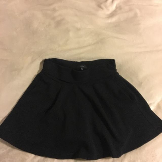 TALULA Dark Blue Mini Skirt