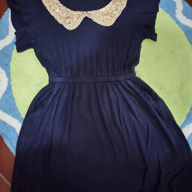Topshop Collar Dress