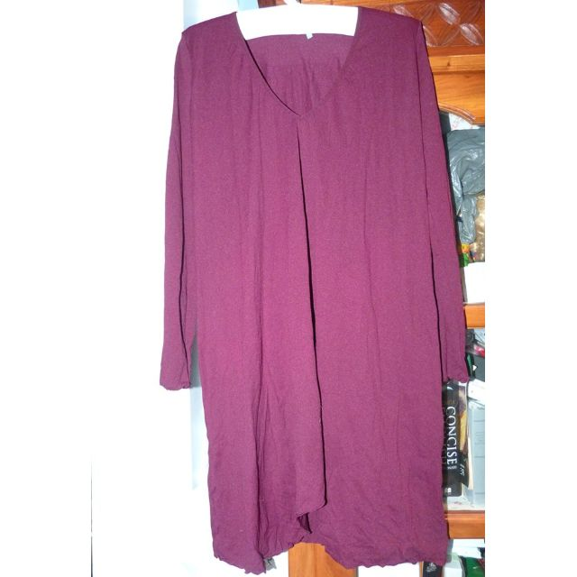 Vigorella osfa Brand New polyamide tunic purple colour (like Metalicus)