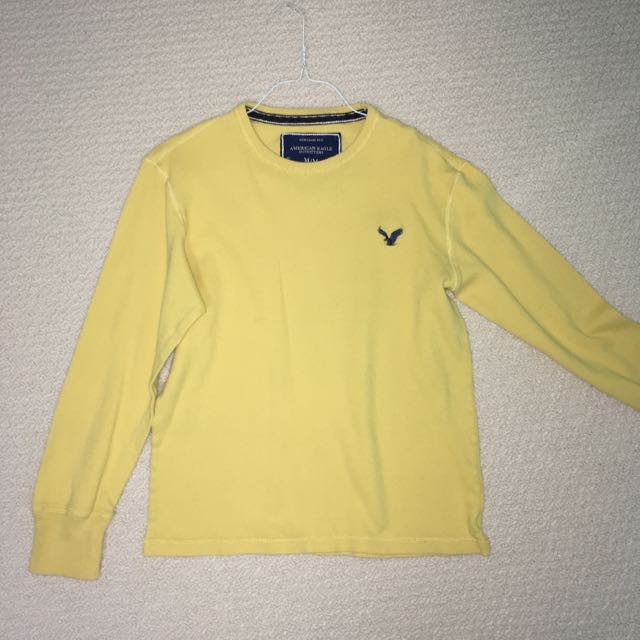 Yellow American Eagle Vintage Sweater