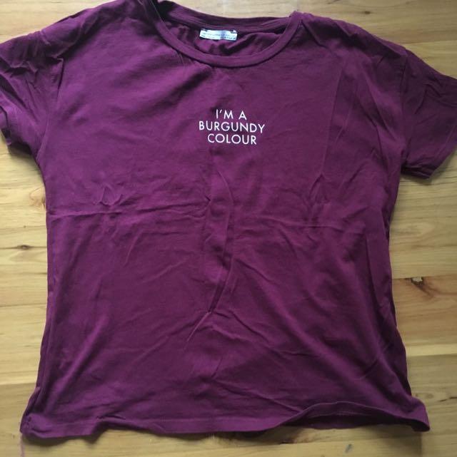 Zara Boxy T-Shirt