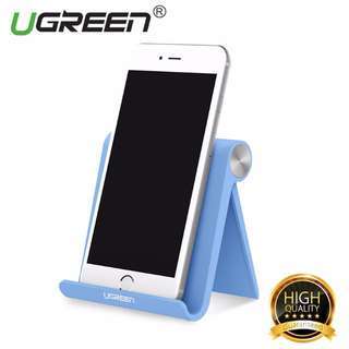 UGREEN Universal Multi-Angle Desk Stand for Mobile Phones and Tablets (Blue)