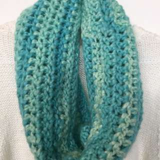 Hand-Crocheted cowl