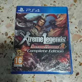 Dynasty Warrior 8 Extreme Legends Complete Edition