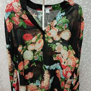 Ladies Floral print Blouse