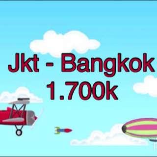 Tiket Airasia PP Jakarta - Bangkok