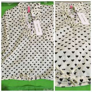 3/4 Heartfull Blouse