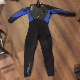 Surfing Wet Suit Men's 3/4 Length Size M