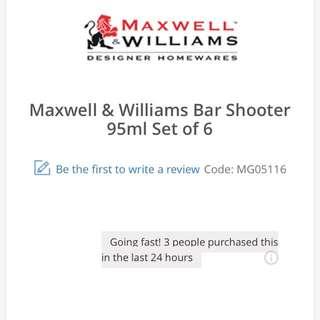 Maxwell Williams Shot Glasses