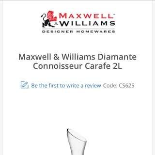 Maxwell Williams Diamante Carafe