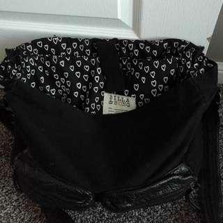 Billabong Faux Leather/Cloth Bag