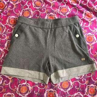 New Asics Grey Shorts Size M