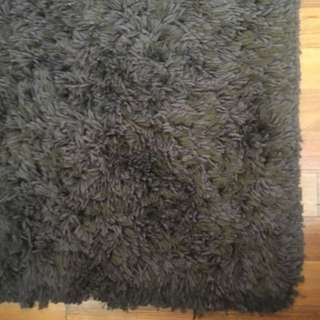 Chocolate Brown Luxury Fluffy Rug