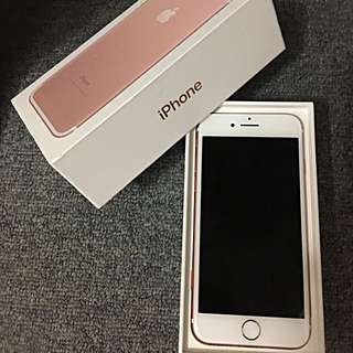 Iphone 7 With Box , All Accessories, Cases And Warranty