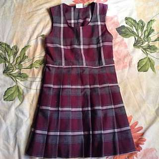 Hilda's Checkered Dress For Kids