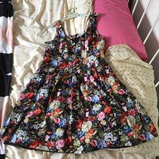 Cute Floral Dress By Bird Paradise