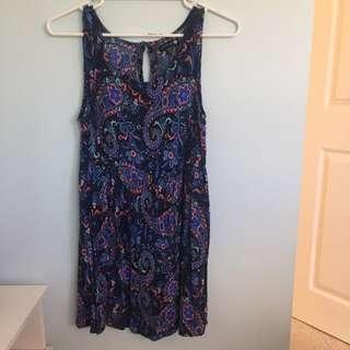 Size S Paisley Summer Dress
