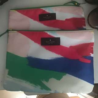 2 Kate Spade Toiletries Bag FREE WITH ANY PURCHASE OVER $20