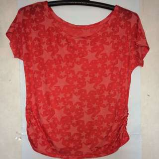 Red Stars Top
